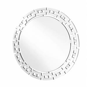 "Sparkle - 36"" Round Contemporary Mirror"