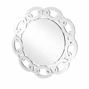 "Sparkle - 31"" Round Contemporary Mirror"