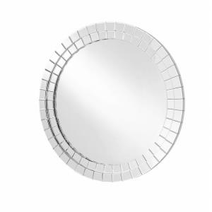 "Sparkle - 39.5"" Round Contemporary Mirror"