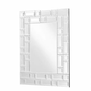 "Sparkle - 37"" Rectangular Contemporary Mirror"