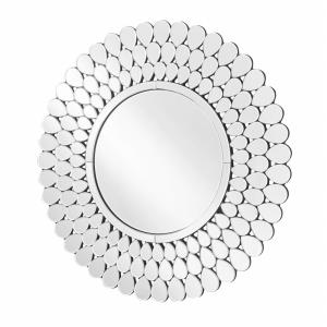 "Sparkle - 40"" Round Contemporary Mirror"