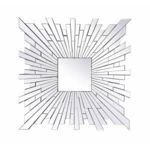 "Modern - 35.5"" Square Mirror"