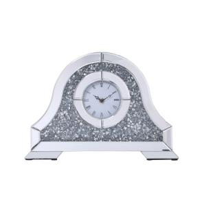 "Sparkle - 15.7"" Contemporary Crystal Table clock"