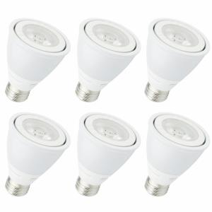 "Sedric - 3.35"" 120V 8W 4100K 35- Beam Angle PAR20 LED Replacement Bulb (Pack of 6)"