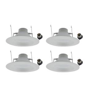 "Nixon - 7.32"" 12W 2700K 1 LED 100- Beam Angle Recessed Retrofit (Pack of 4)"