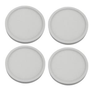 """7.9"""" 15W 3000K 1 LED 120- Beam Angle Recessed Disk Light (Pack of 4)"""