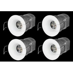 """2.2"""" 12V 3W 1 LED 15- Beam Angle Recessed Retrofit DownLight (Pack of 4)"""