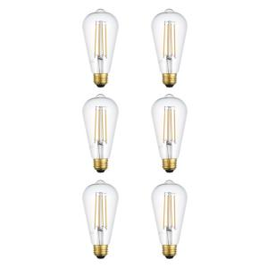 "Nostalgic - 5.51"" 3.5W 360- Beam Angle ST18 LED Replacement Bulb (Pack of 10)"