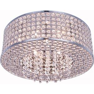 Amelie - Six Light Flush Mount