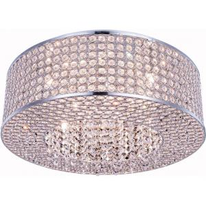 Amelie - Eight Light Flush Mount