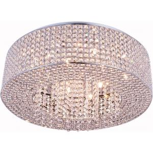 Amelie - Ten Light Flush Mount