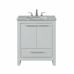 "Filipo - 30"" 1 Drawer Rectangle Single Bathroom Vanity Sink Set"