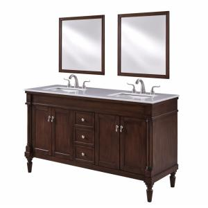 "Lexington - 60"" Double Bathroom Vanity Set"