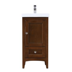 "Saturn - 18"" Single Bathroom Vanity Set"