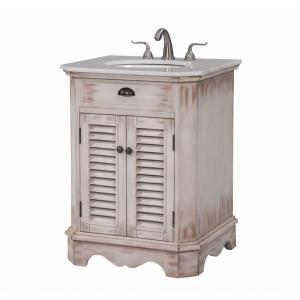"Milford - 26"" Single Bathroom Vanity Set"