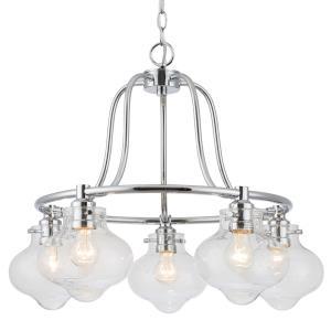 Industrial - Five Light Chandelier