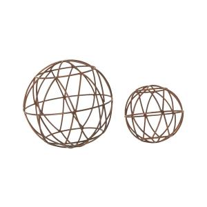 "World - 6"" Spheres (Set of 2)"
