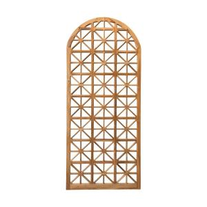 Lattice - 82.7 Inch Outdoor Arched Floor Mirror