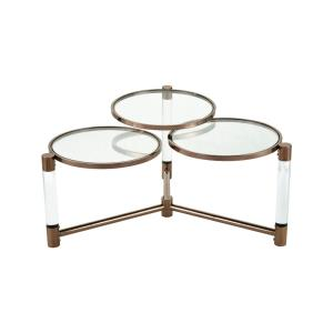Triple Crown - 35.4 Inch Coffee Table