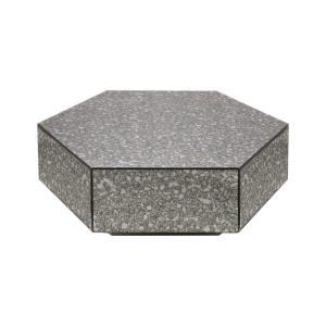 "Angle Block - 34.5"" Coffee Table"
