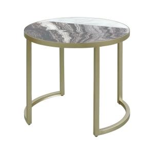Split Personality - 19.5 Inch Accent Table