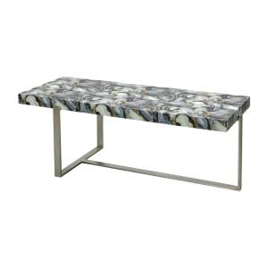 Oyster Stone - 47 Inch Coffee Table