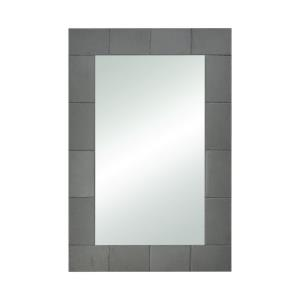 Slated - Modern/Contemporary Style w/ Luxe/Glam inspirations - Mirror and Slate Mirror - 36 Inches tall 24 Inches wide