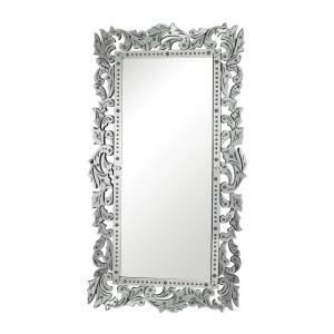 Reede - Traditional Style w/ Coastal/Beach inspirations - Glass Venetian Mirror - 72 Inches tall 40 Inches wide