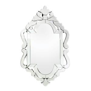 Tonbridge - Traditional Style w/ Luxe/Glam inspirations - Glass Venetian Style Mirror - 36 Inches tall 22 Inches wide