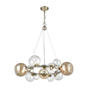 Bubbles - Nine Light Pendant