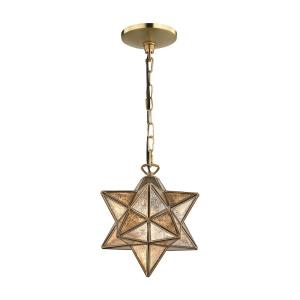 Moravian Star - One Light Small Pendant