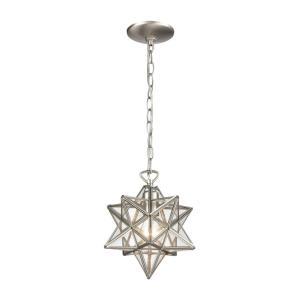 "Moravian Star - 10"" One Light Pendant"