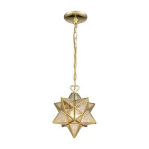 Moravian Star - 10 Inch One Light Pendant