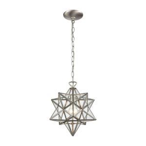 "Moravian Star - 12"" One Light Pendant"