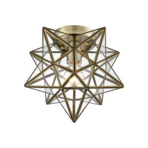 Moravian Star - One Light Flush Mount