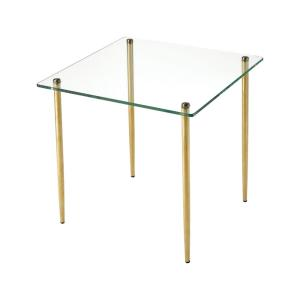 On Point - 17.71 Inch Square Accent Table