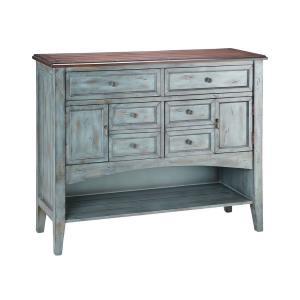 Hartford - 46 Inch 2-Door 6-Drawer 1-Shelf Buffet Server