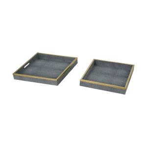 Coral - 16 Inch Tray (Set of 2)