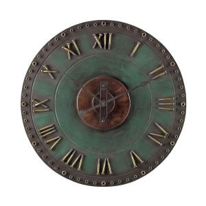 "31.5"" Roman Numeral Outdoor Wall Clock"