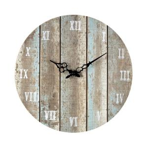 16 Inch Roman Numeral Outdoor Wall Clock