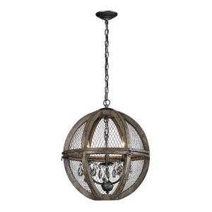 Renaissance Invention - Three Light Small Chandelier