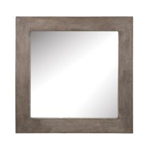 Cubo - 31.5 Inch Concrete Mirror