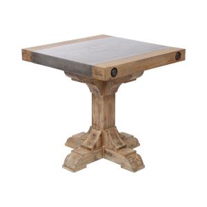 Kingdom - 23.62 Inch Outdoor Pirate Accent Table