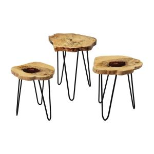 """Teak - 24"""" Nesting Table"""
