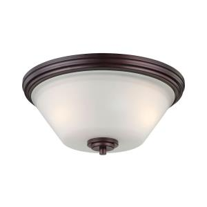 Pittman - Two Light Flush Mount