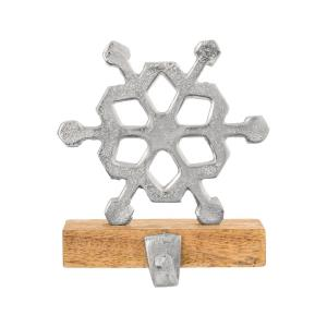 "Frosthill - 6"" Snowflake Stocking Holder"