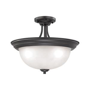 Bristol Lane - Three Light Semi-Flush Mount