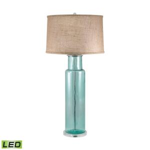 """Recycled Glass - 30"""" 9.5W 1 LED Table Lamp"""