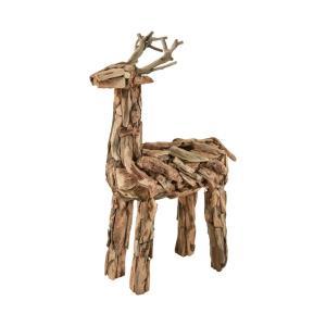 Tidings of Joy - 27 Inch Driftwood Reindeer