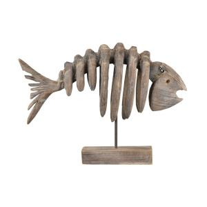 "25"" Bone Fish Decorative Accessory"